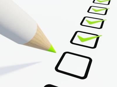 Certificado de soltería checklist