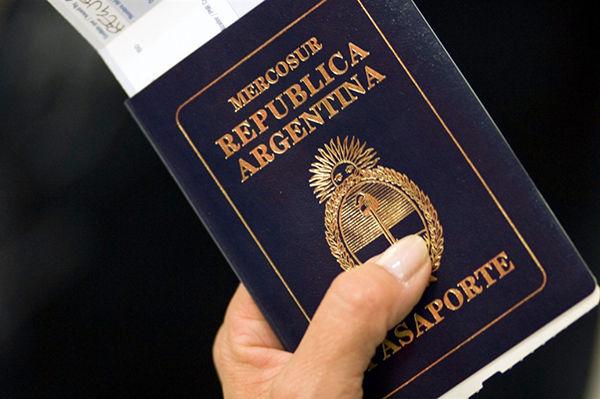 requisitos para el pasaporte en argentina