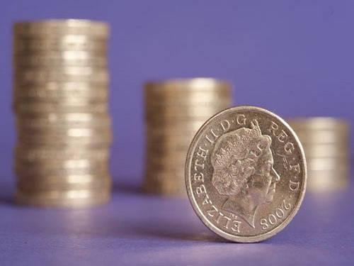 Formulario 760 pila de monedas