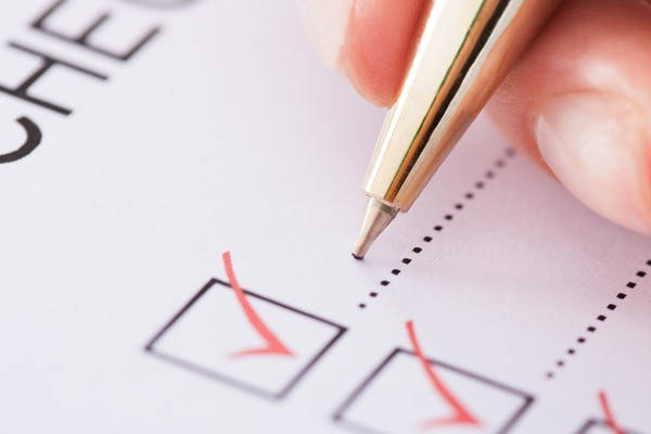 Formulario IGJ checklist
