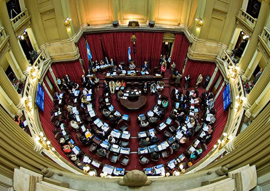 camara de senadores argentina
