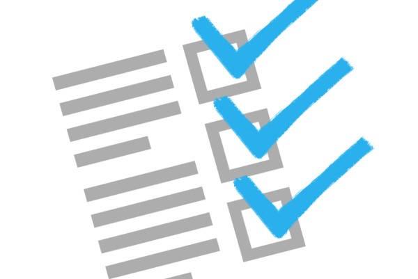 Requisitos para antecedentes penales checklist