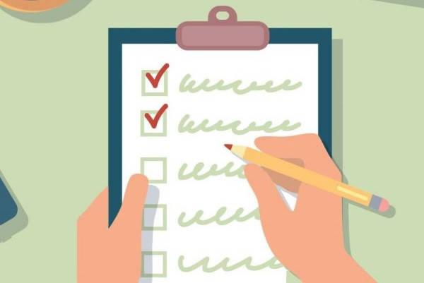 Certificado nacional de autorización para agencias de turismo estudiantil checklist