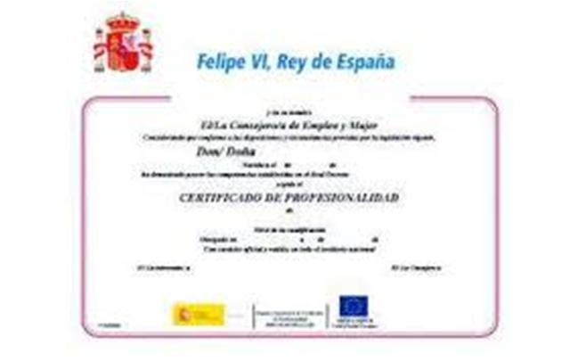 Certificado de Docencia