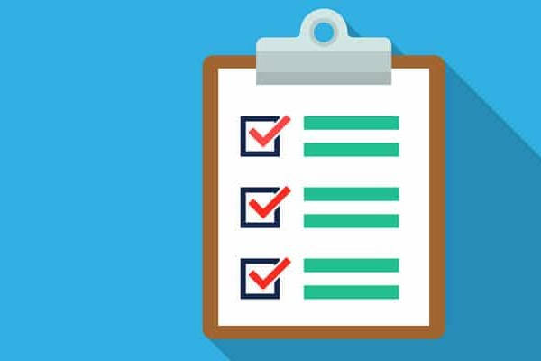 Cita GTU checklist