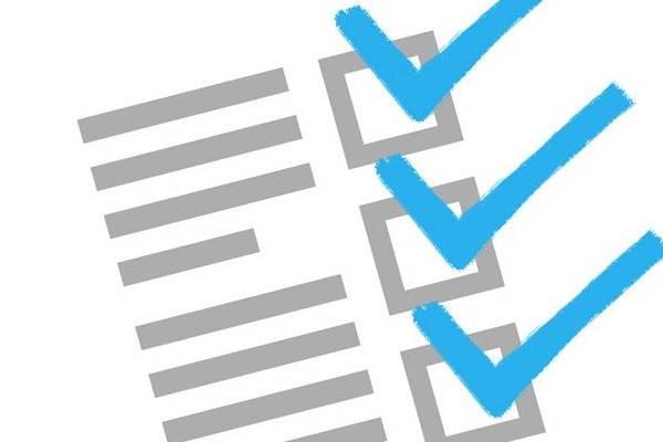 Requisitos para ser vigilante de seguridad checklist