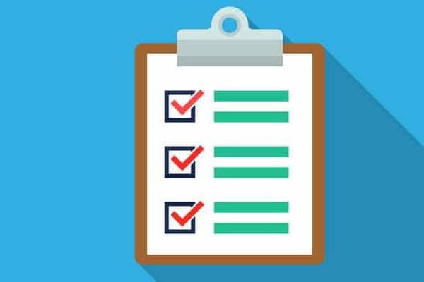 Como saber el número de Registro Industrial de un taller checklist