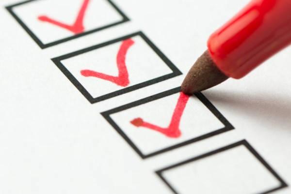 Formulario Exclusión Propaganda Electoral checklist
