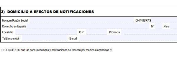 Formulario EX 10 datos de identificación