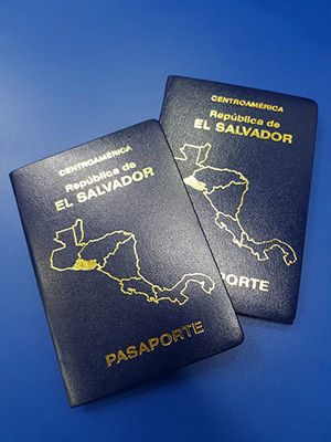 pasaporte salvadoreño