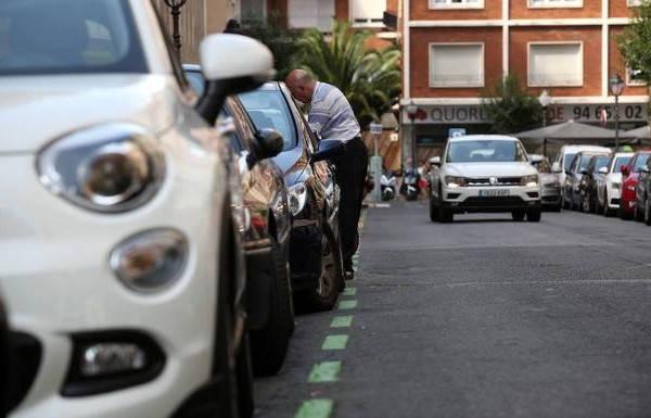 Requisitos para poner un vado coches estacionados