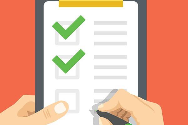 Cita Oar checklist