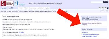 Conoce como obtener el Certificado de Inscripción en el Censo Electoral