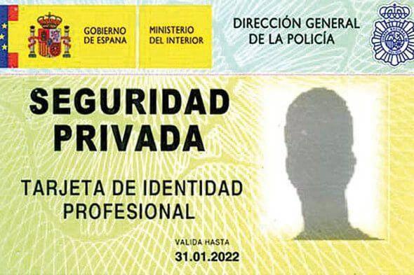 Requisitos para ser vigilante de seguridad tarjeta TIP