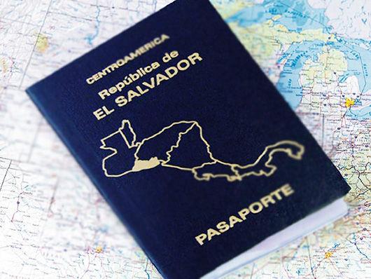 renovar pasaporte salvadoreño