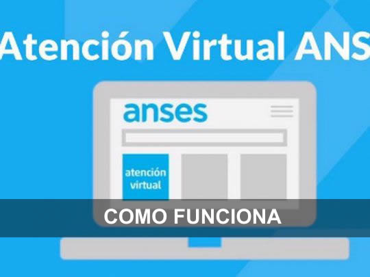 como funciona la atencion virtual de anses