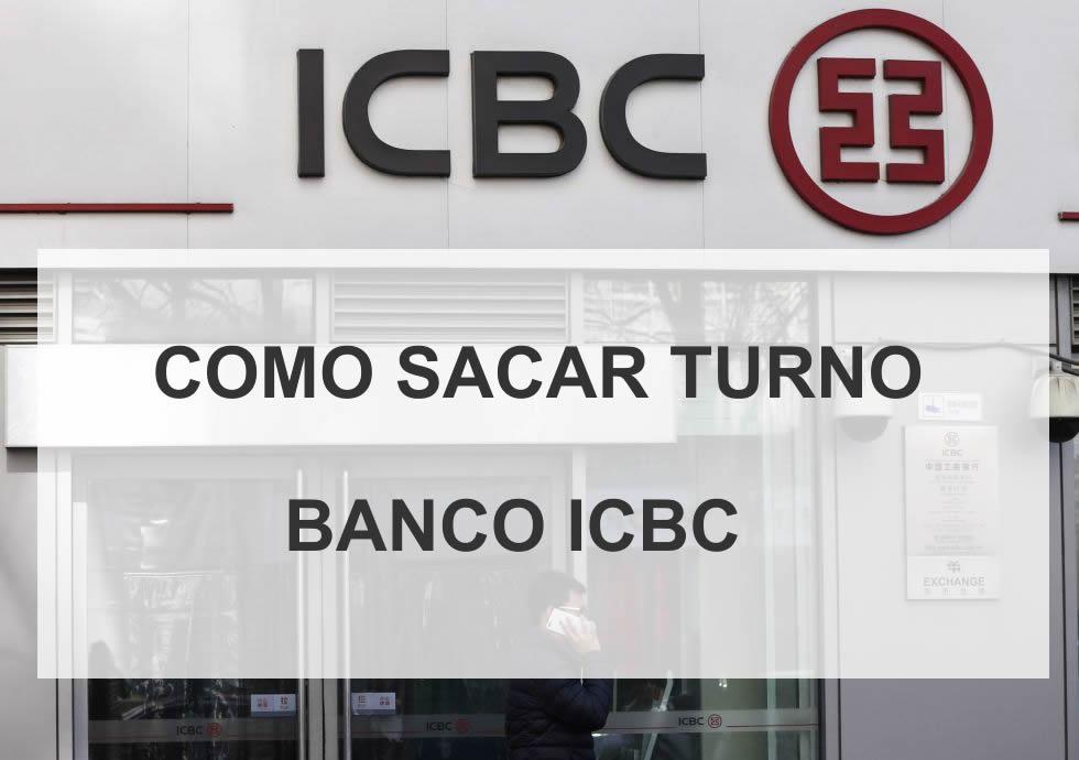 como sacar turno banco icbc