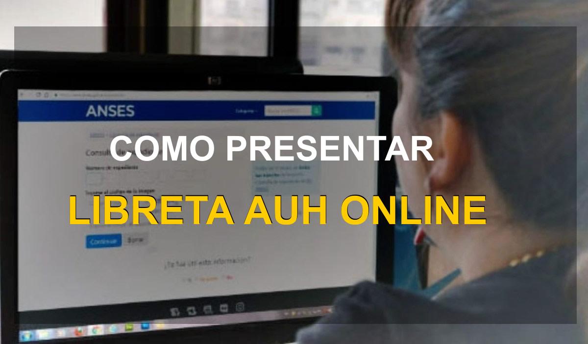 comp resentar libreta auh online