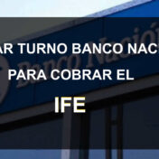 sacar urno banco nacion para cobrar el ife