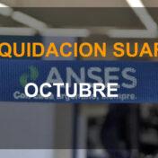 Consultar LIQUIDACION SUAF Octubre 2020 Fecha de Cobro
