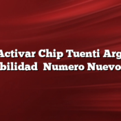 Como Activar Chip Tuenti Argentina Portabilidad    Numero Nuevo    SIM