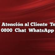 IPLAN Atención al Cliente    Teléfono 0800    Chat    WhatsApp